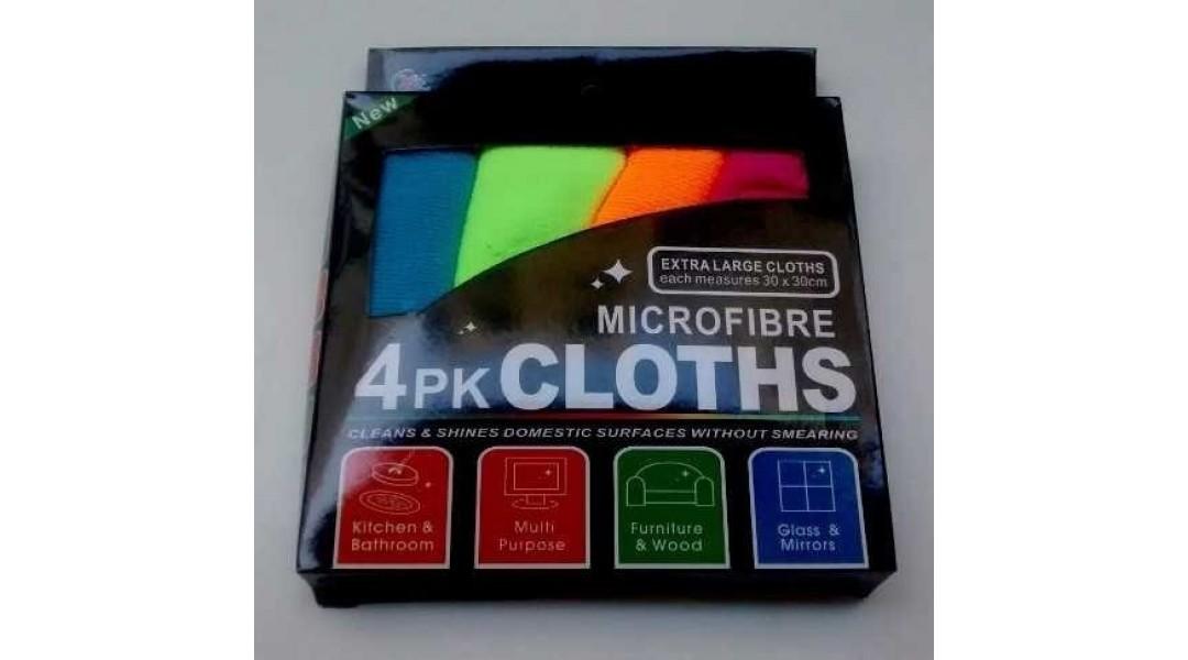 MICROFIBRA (30*30cm) PACK...