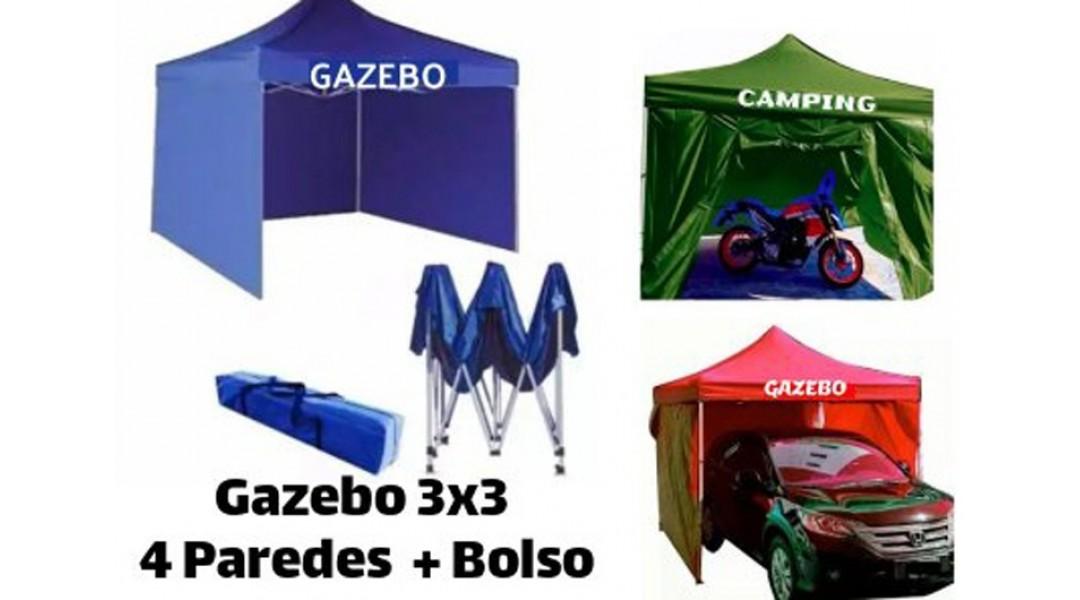 GAZEBO 3*3, 4 PAREDES PLE...